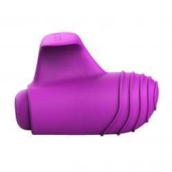 B SWISH Basics - szilikon ujjvibrátor (lila)
