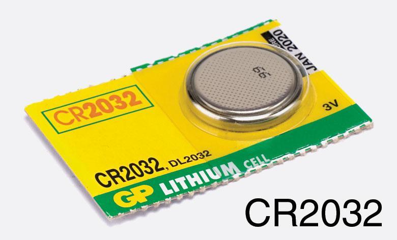 GP gombelem CR2032 (1db)