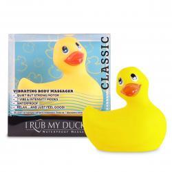 My Duckie Classic 2.0 - játékos kacsa vízálló csiklóvibrátor (sárga)