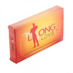 Long Love - magömlés késleltető étrend kiegészítő férfiaknak (4db)