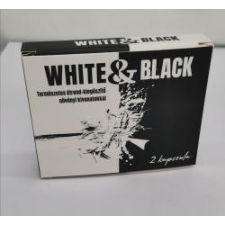 White & Black - erős, étrend kiegészítő férfiaknak (2db)