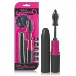 Screaming Mascara - spirál vibrátor (fekete-pink)
